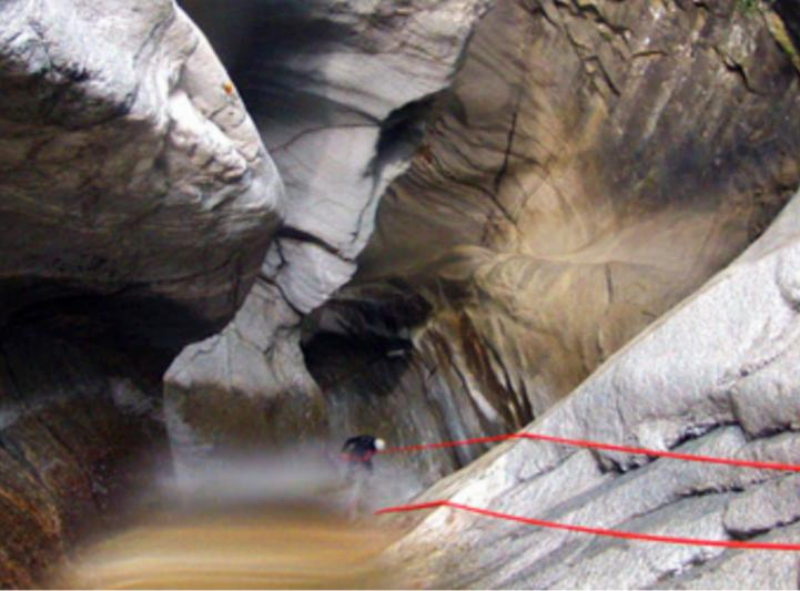 Canyoning en Valais - la Morge