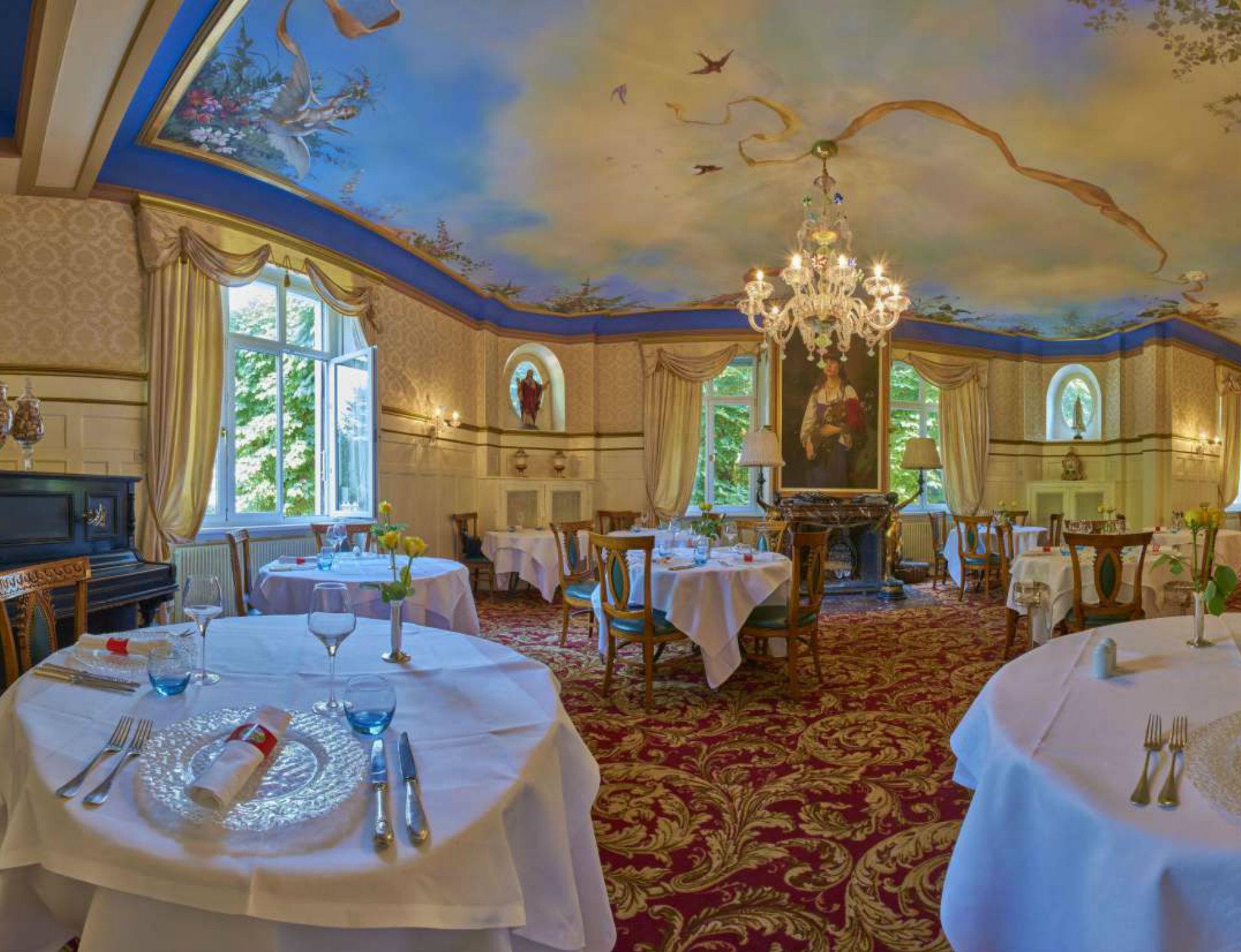 Repas à l'hôtel du Parc