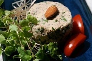 Cuisine de saison avec algues et jeunes pousses