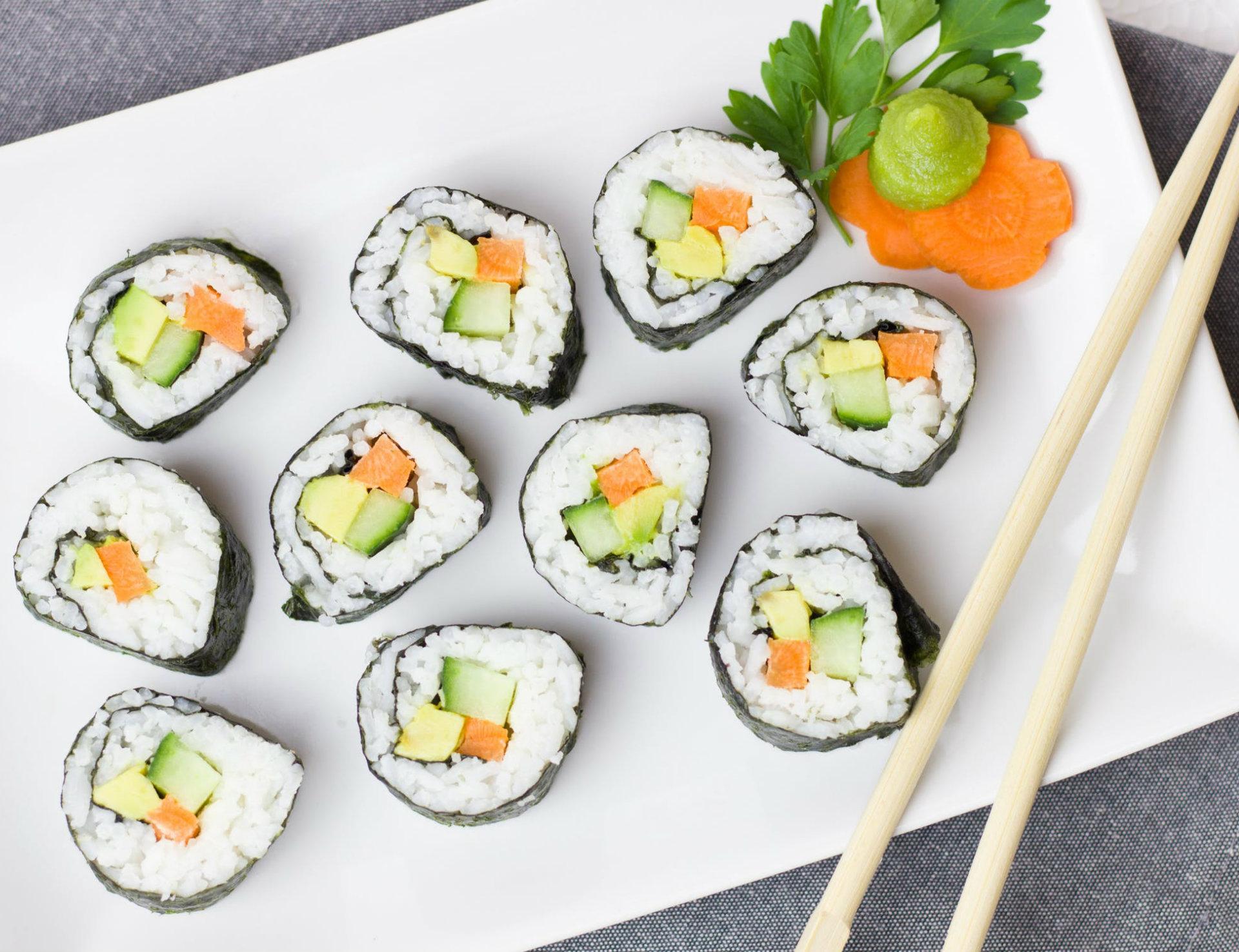 Confection de Sushis - Cours de cuisine