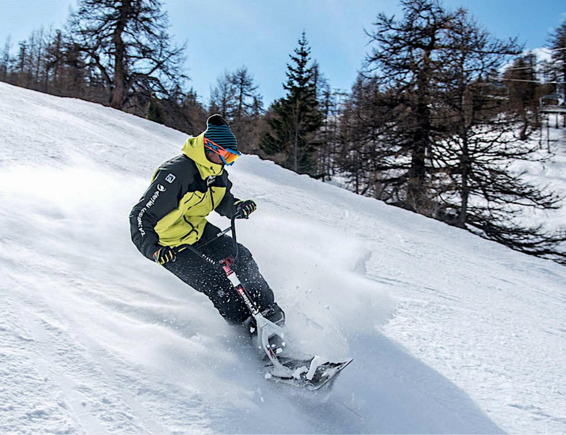 Cours privé de snowscoot