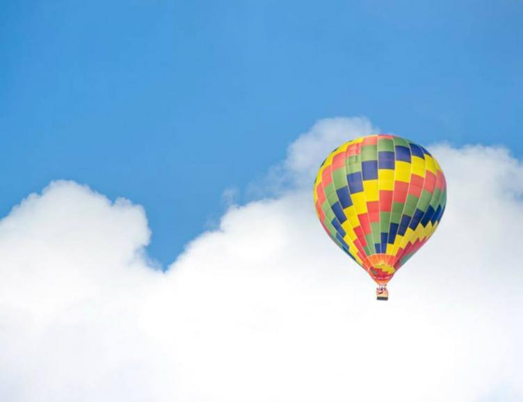 Vol en montgolfière d'une heure