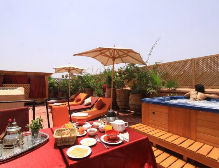 Charme et romantisme à Marrakech