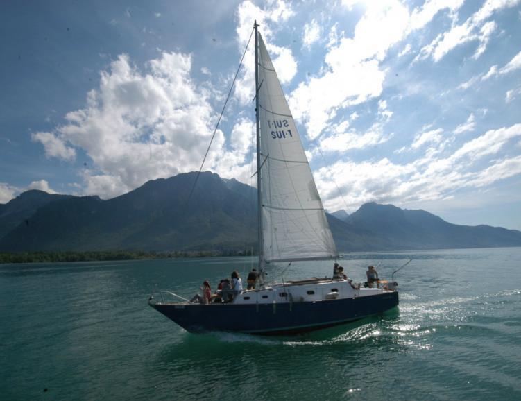 Boat & Breakfast sur le Lac Léman