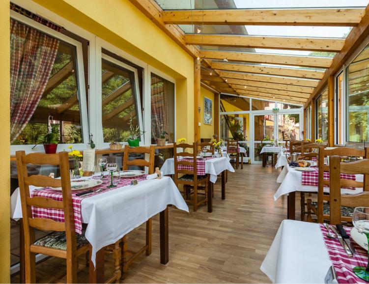 Repas à l'hôtel de la Poste en Alsace
