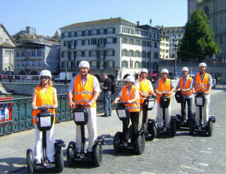 Une façon unique de découvrir Zürich