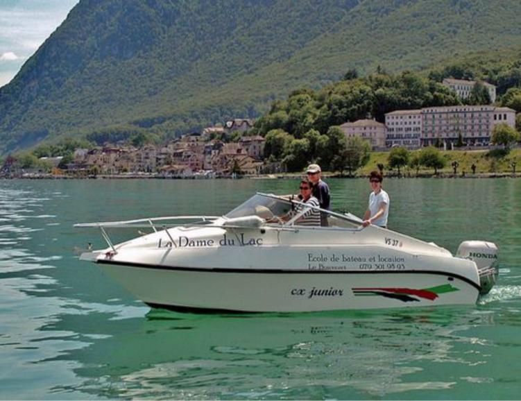 Sortie en bateau à moteur