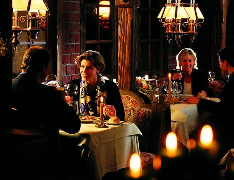 Repas au Seehotel Bären à Brienz