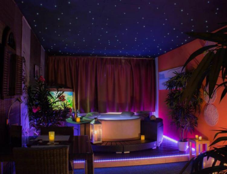 Apéritif dinatoire romantique dans un Spa