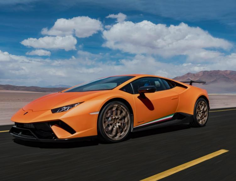 Lamborghini Hurican - 3 tours