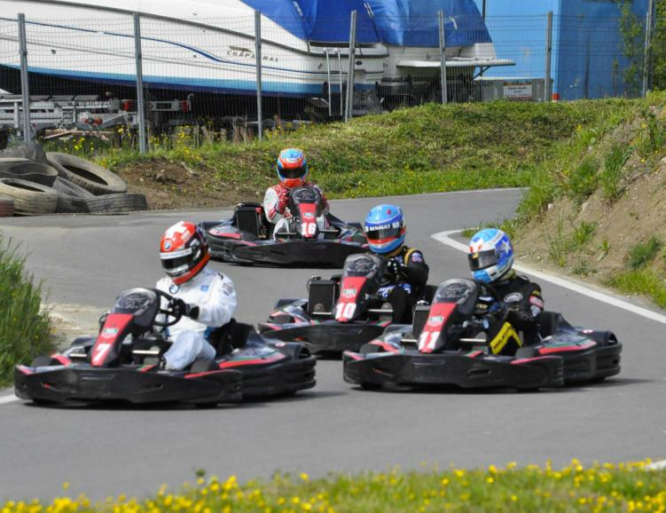 Karting en duo