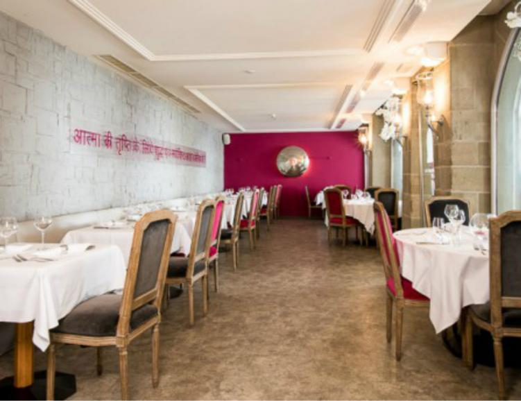 Repas indien au Khana Mandir