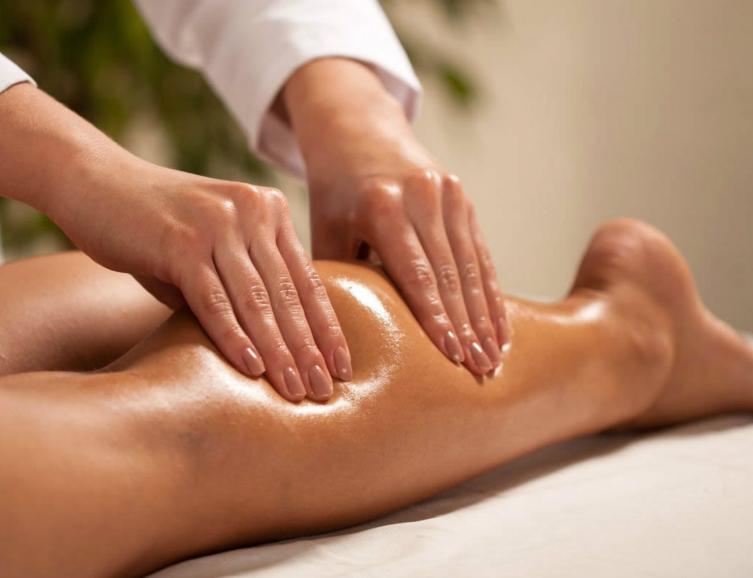 Massage des jambes à domicile