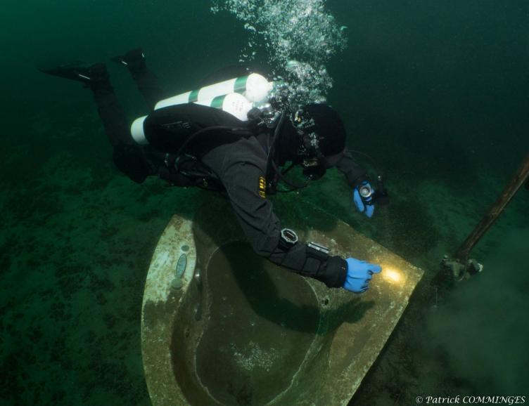 Découverte de la plongée sous-marine au lac