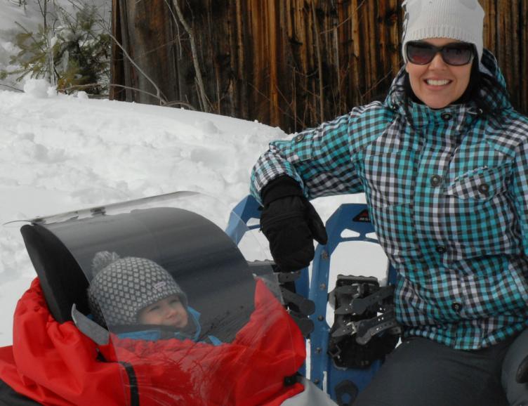 Excursion hivernale avec votre petit enfant