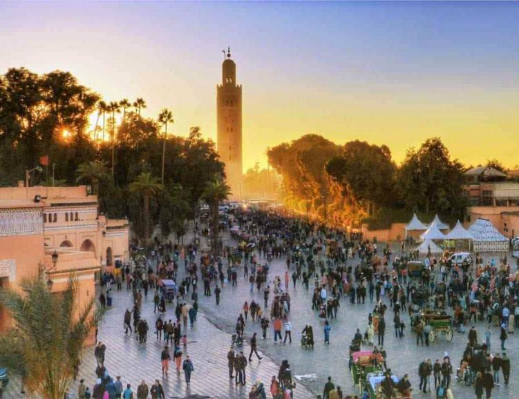 Week-end evasion à Marrakech