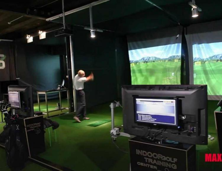Cours et simulateur de Golf