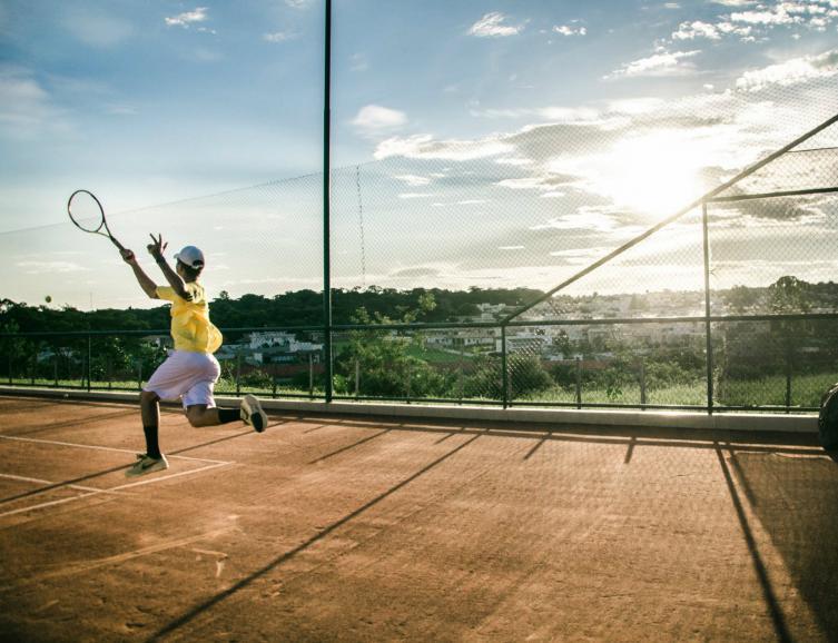 Stage de tennis ludique pour enfants