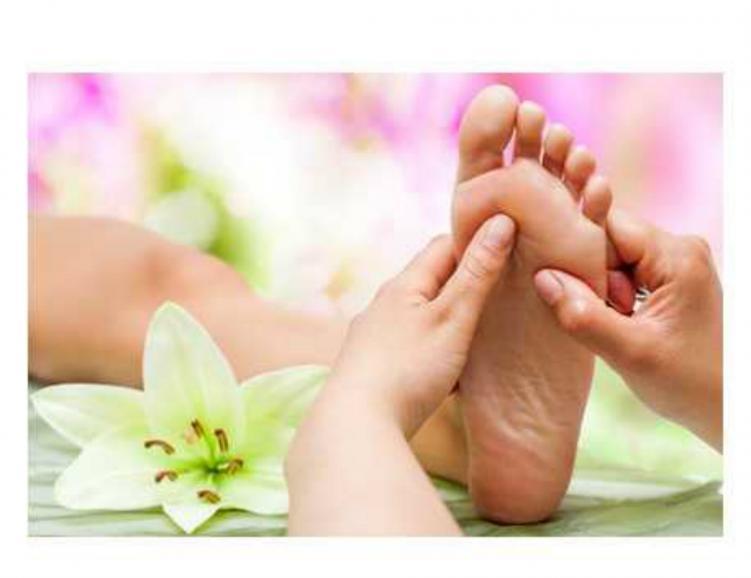 Réflexologie des pieds