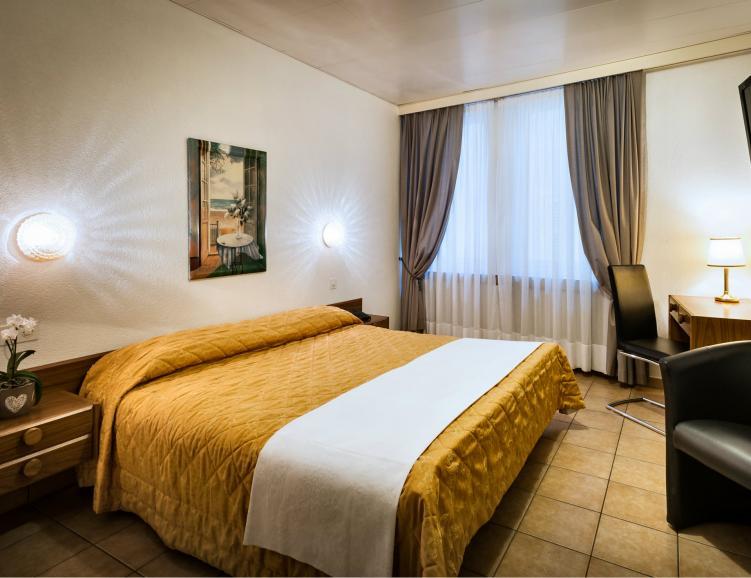 Séjour formidable à l'hôtel dell' Angelo