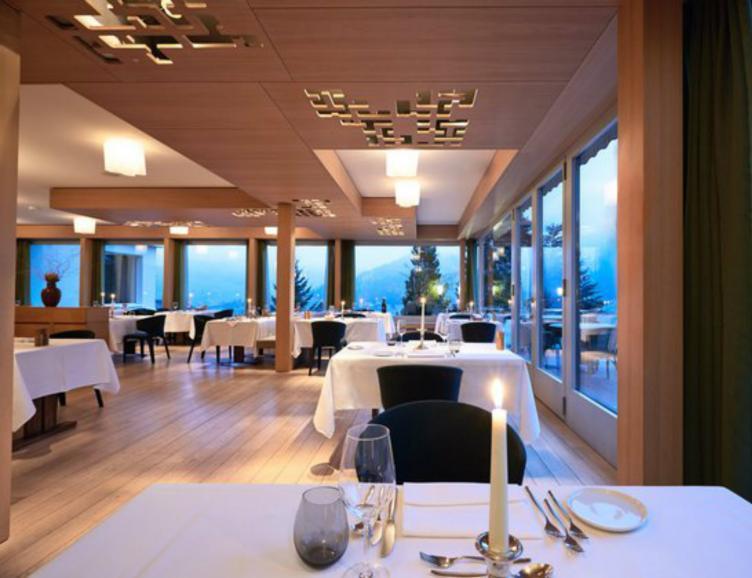 Repas au Parkhotel Bellevue & Spa