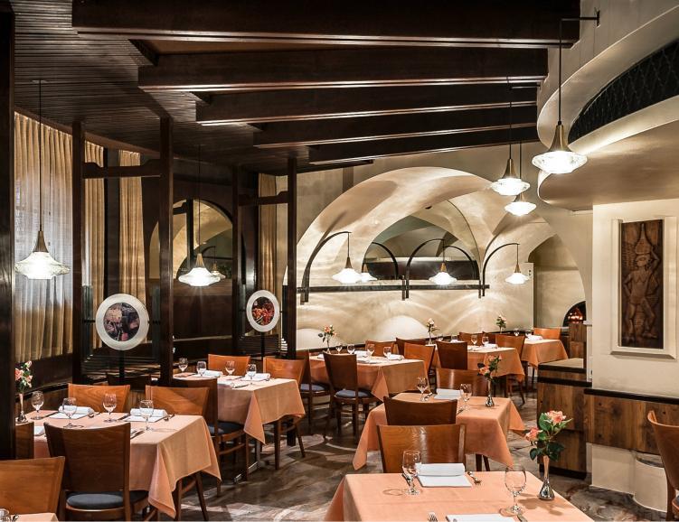 Plaisir gourmands au restaurant dell'Angelo