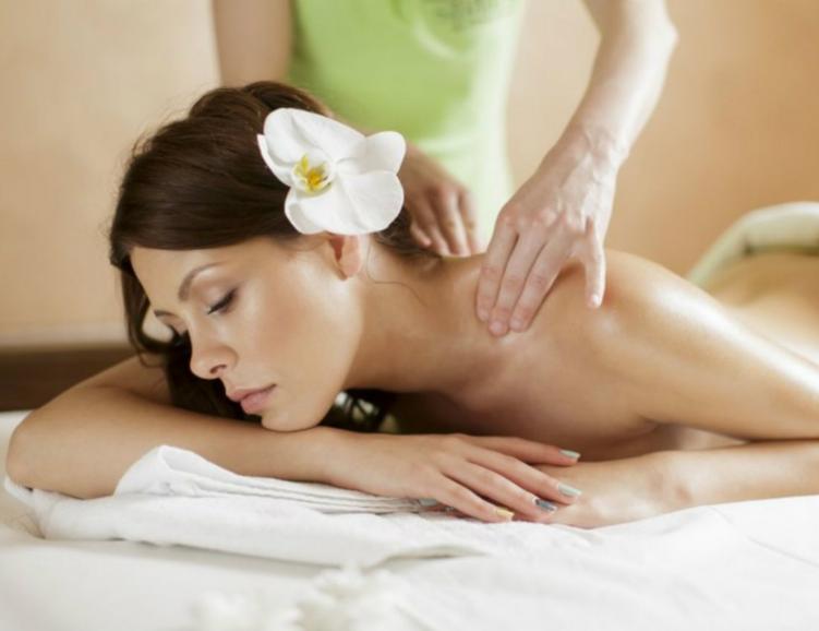 Gommage et massage