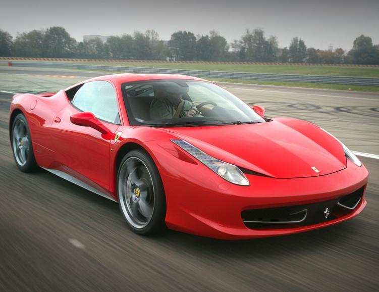 Ferrari F458 Italia - 5 tours