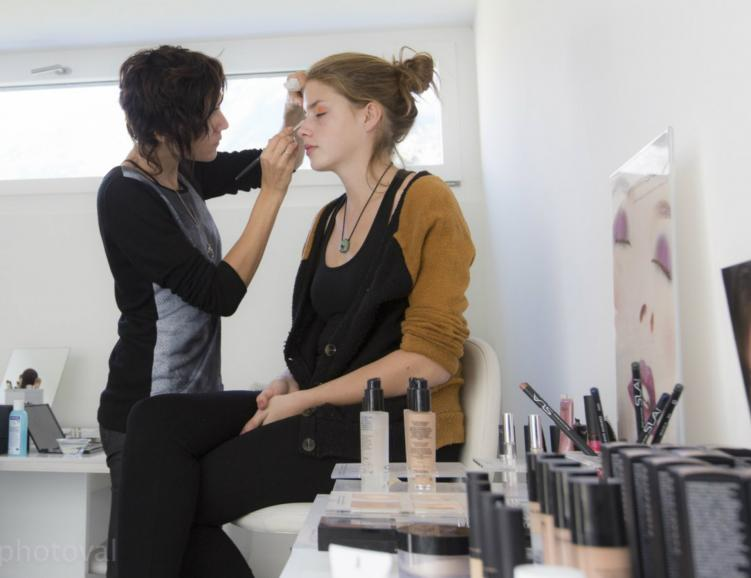 Maquillage et séance photo